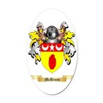 McBreen Oval Car Magnet