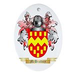 McBratney Oval Ornament