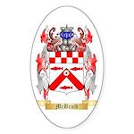 McBraid Sticker (Oval 10 pk)