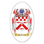 McBraid Sticker (Oval 50 pk)