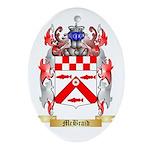 McBraid Oval Ornament