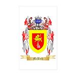 McBeth Sticker (Rectangle 10 pk)