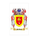 McBeth Sticker (Rectangle 50 pk)