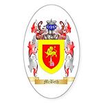 McBeth Sticker (Oval 50 pk)