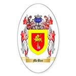 McBee Sticker (Oval 10 pk)