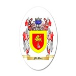 McBee 20x12 Oval Wall Decal