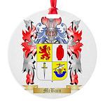 McBain Round Ornament