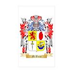 McBain Sticker (Rectangle 50 pk)