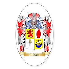 McBain Sticker (Oval)