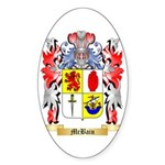 McBain Sticker (Oval 50 pk)