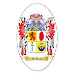 McBain Sticker (Oval 50 pk)