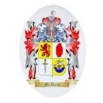 McBain Oval Ornament