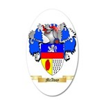 McAvoy 35x21 Oval Wall Decal