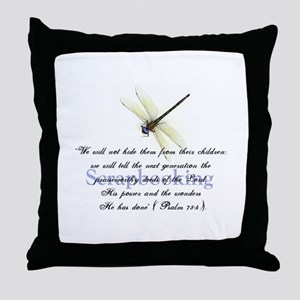 Faithbooking Throw Pillow
