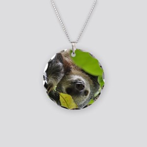 Sloth_20171105_by_JAMFoto Necklace Circle Charm