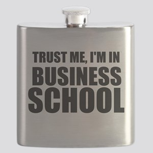 Trust Me, I'm In Business School Flask