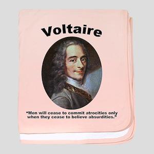Voltaire Absurd baby blanket