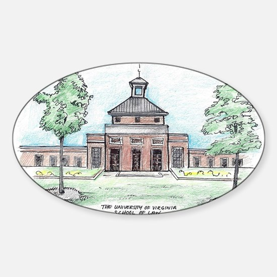 University of Virginia School of Law Decal