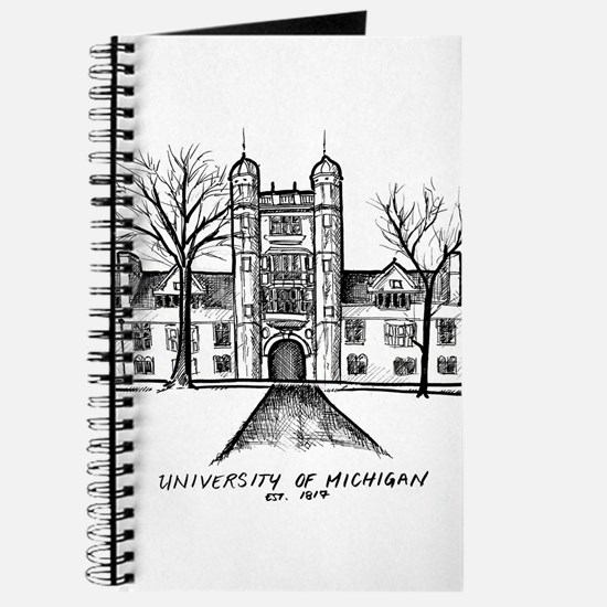 Funny Michigan wolverines Journal