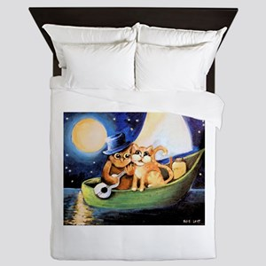 The Owl and the Pussycat Queen Duvet