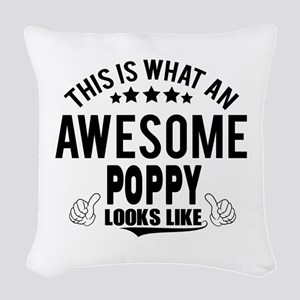 THIS IS WHAT AN AWESOME POPPY LOOKS LIKE Woven Thr