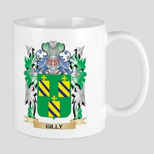 Gilly Coat of Arms (Family Crest) Mugs