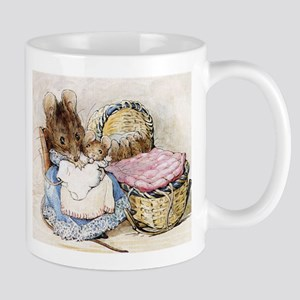 Beatrix Potter Lady Mouse Mugs