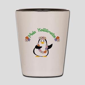 Mele Kalikimaka Penguin Shot Glass
