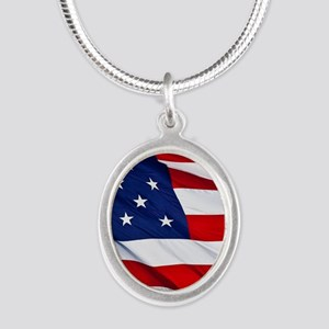 United States Flag in All Her Glory Necklaces