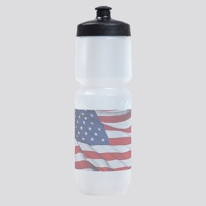 United States Flag in All Her Glory Sports Bottle