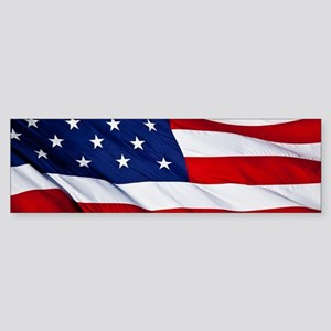 United States Flag in All Her Glory Bumper Sticker