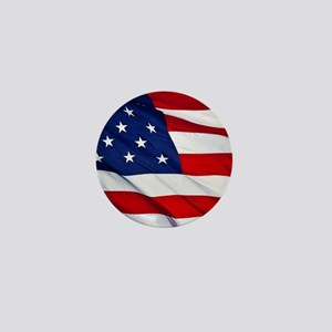 United States Flag in All Her Glory Mini Button