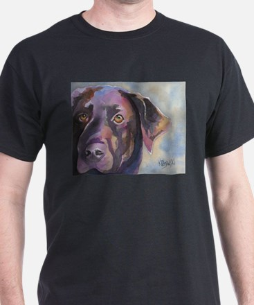 Funny Chocolate lab lovers T-Shirt