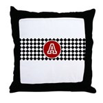 Personalized Print Throw Pillow