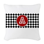 Personalized Print Woven Throw Pillow
