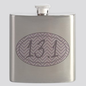 13.1 Purple Chevron Flask