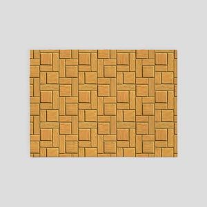 Sandstone Blocks 5'x7'Area Rug