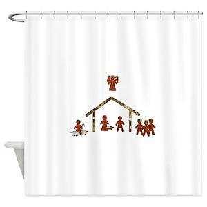 Nativity Shower Curtains