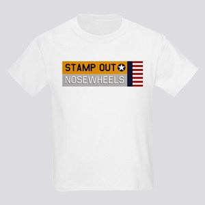 Stamp Out Nosewheels - PT-17 Yellow/Silver T-Shirt