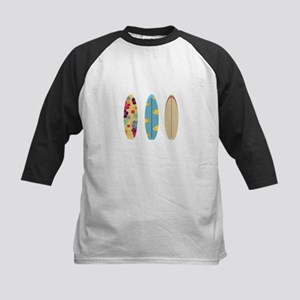 Colourful Surfboards Baseball Jersey