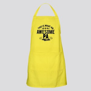 THIS IS WHAT AN AWESOME PA LOOKS LIKE Apron