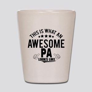 THIS IS WHAT AN AWESOME PA LOOKS LIKE Shot Glass