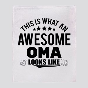 THIS IS WHAT AN AWESOME OMA LOOKS LIKE Throw Blank