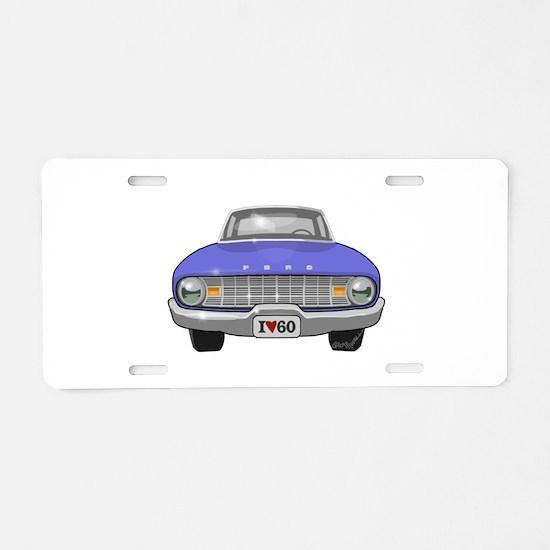 Ford Falcon Aluminum License Plate