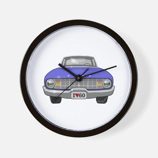 Ford Falcon Wall Clock