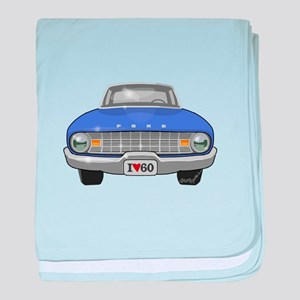 Ford Falcon baby blanket
