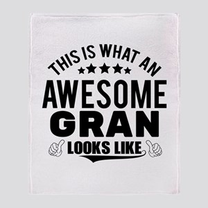 THIS IS WHAT AN AWESOME GRAN LOOKS LIKE Throw Blan