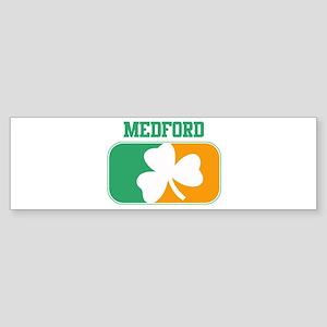 MEDFORD irish Bumper Sticker