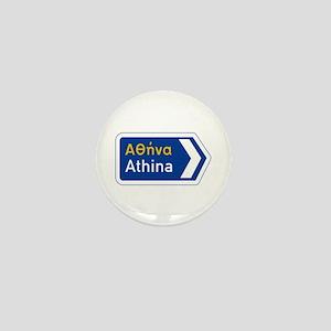 Athens, Greece Mini Button