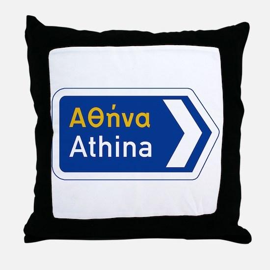 Athens, Greece Throw Pillow